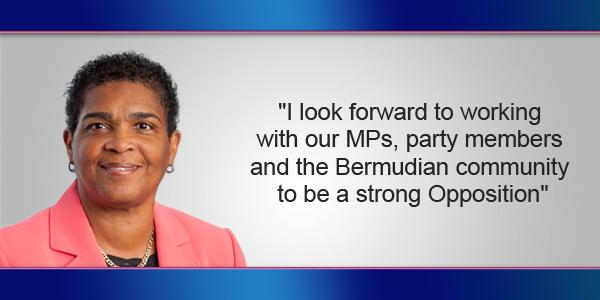 Patricia Gordon-Pamplin Bermuda July 21 2017
