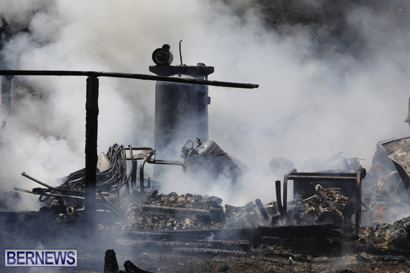 Structural fire at 11 Turk's Head Lane Bermuda July 14 2017 (3)