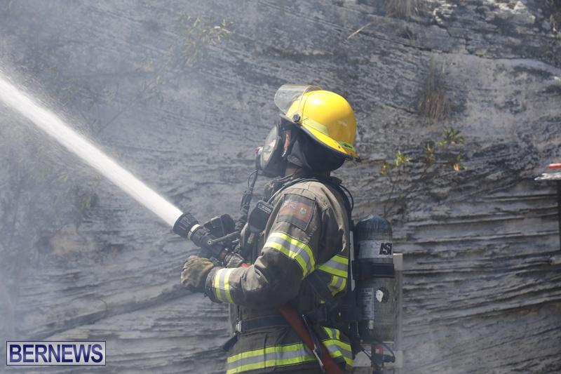 Structural fire at 11 Turk's Head Lane Bermuda July 14 2017 (5)