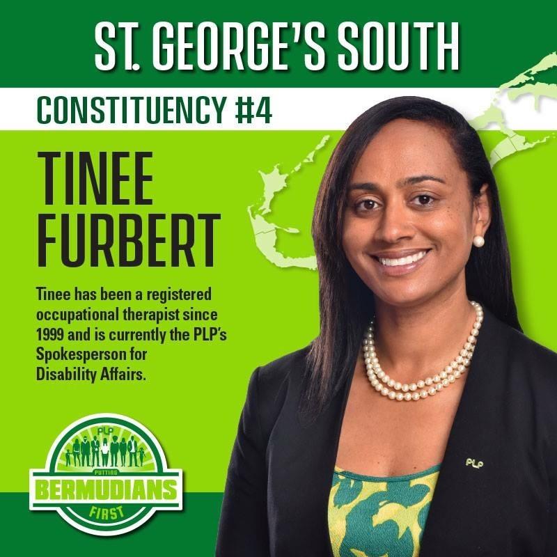 Tinee Furbert Bermuda July 2017