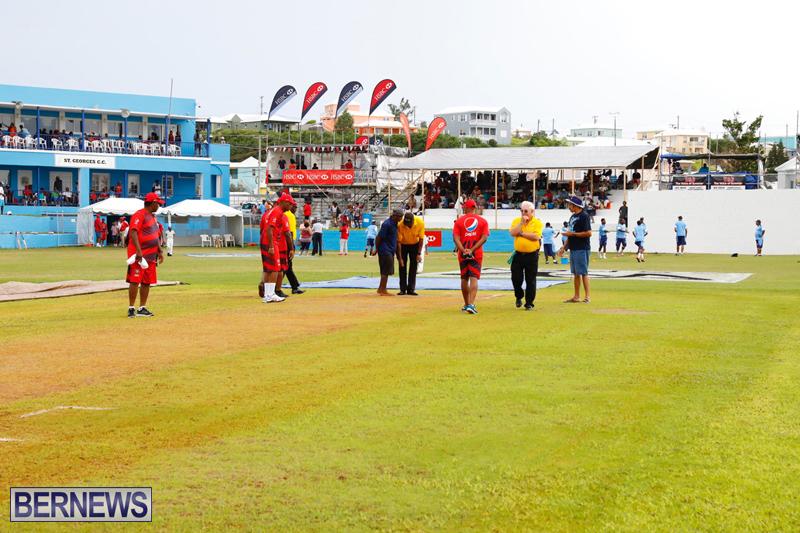 2017 Cup Match Bermuda getting underway, August 3 2017 (2)