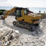 Bermuda Shelly Bay beach house demolition August 22 2017 (4)