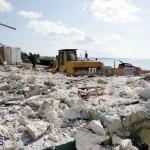 Bermuda Shelly Bay beach house demolition August 22 2017 (9)