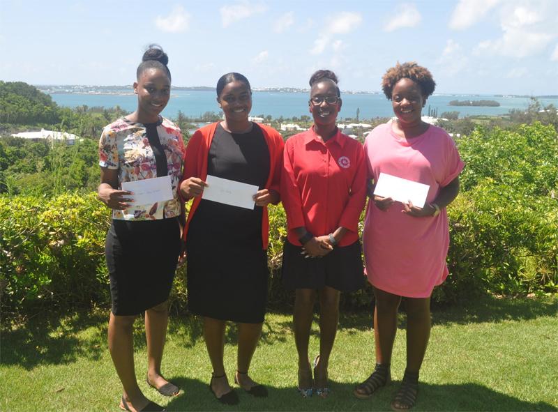 Continental Society Award Three Scholarships Bermuda August 25 2017