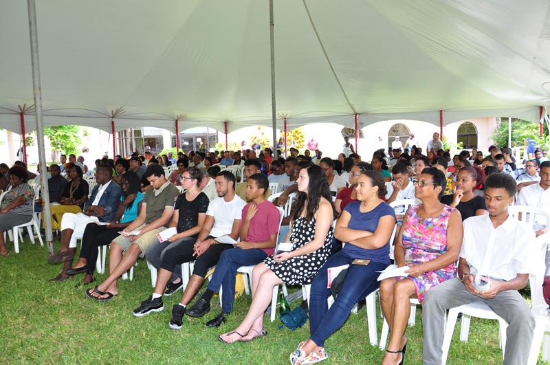 Convocation ceremony Bermuda College August 2017