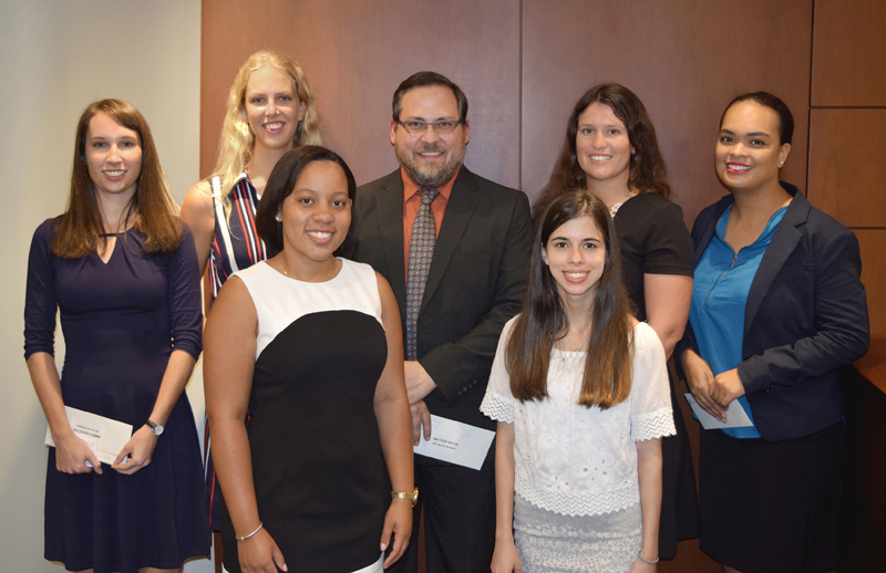 Conyers Dill & Pearman legal education award Bermuda Aug 2017