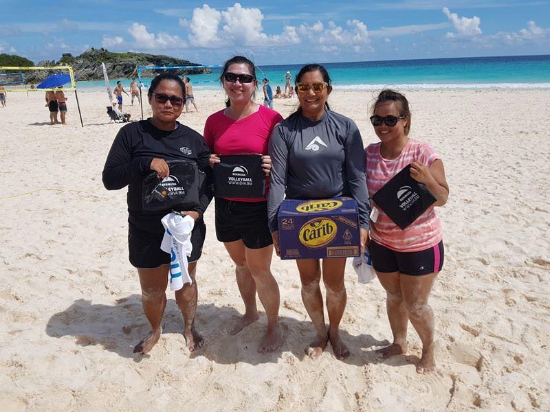 Photos & Results: Beach Volleyball Tournament - Bernews