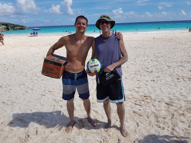 Photos & Results: Volleyball Beach Tournament - Bernews
