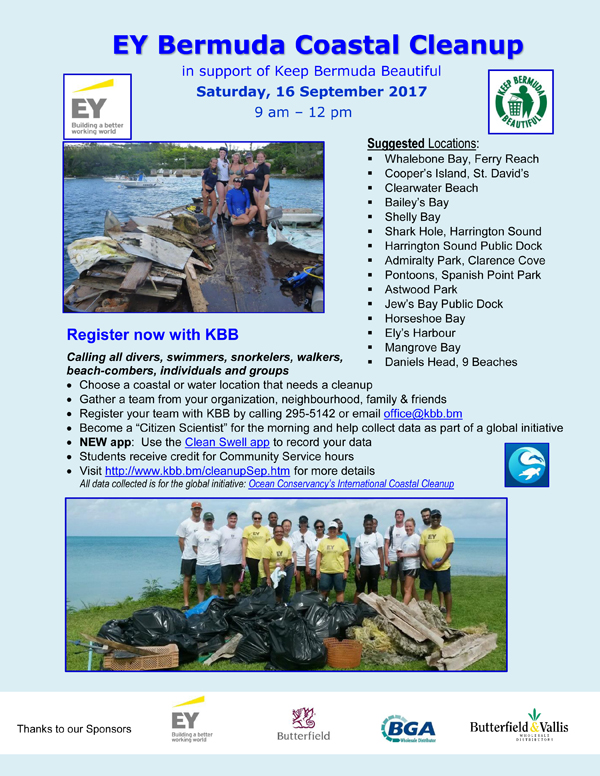 Keep Bermuda Beautiful in Action