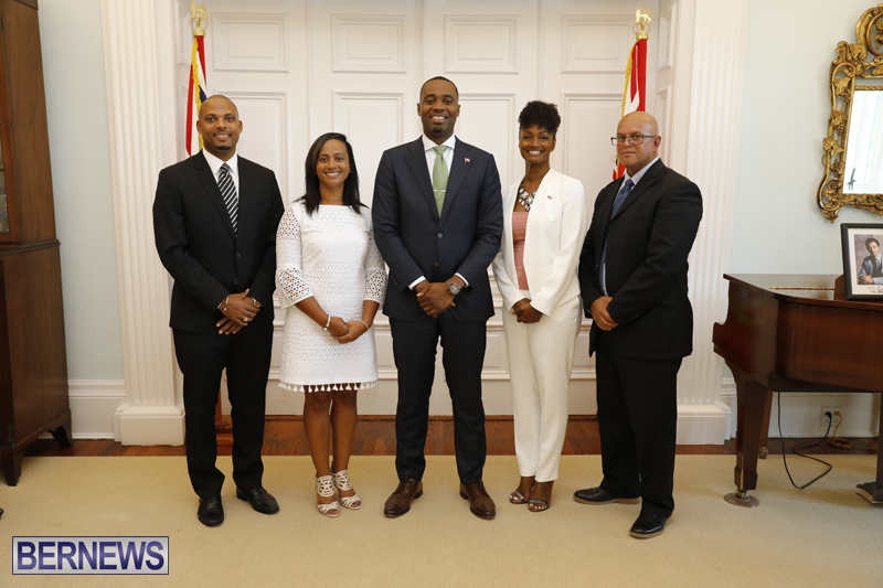 Premier and Junior Ministers Bermuda Aug 2017