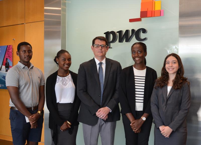 PwC Scholarships winners Bermuda Aug 2017