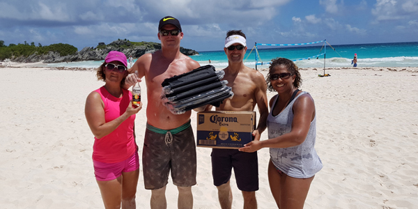 Photos & Results: Corona Coed Beach Volleyball - Bernews