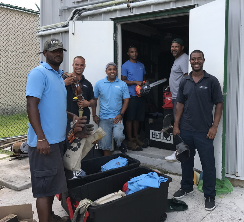 BELCO BVI Team Bermuda September 15 2017