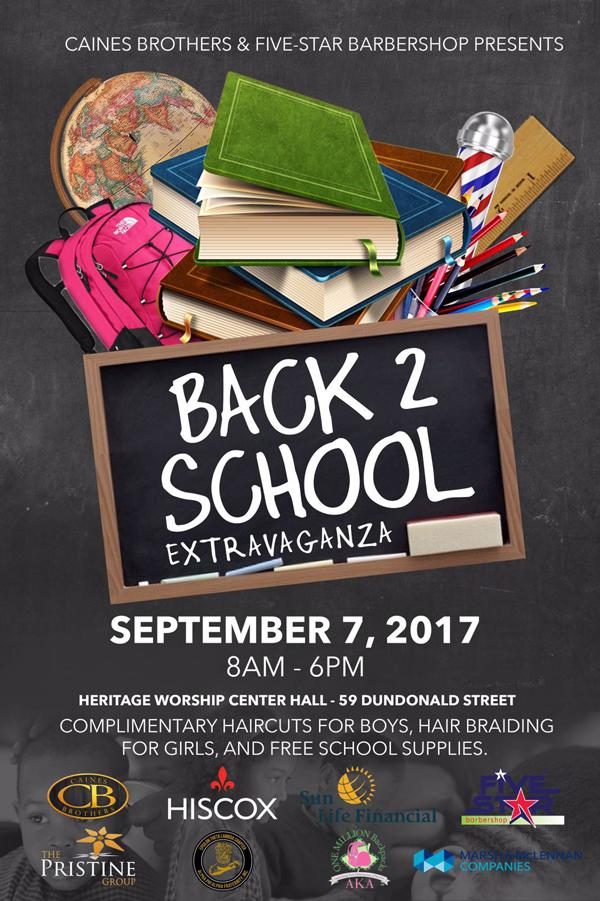 Back to School Extravaganza Bermuda Sept 2017