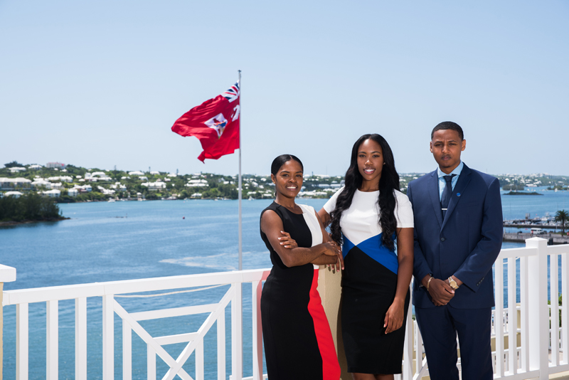 Bank of Butterfield Graduate Trainees Bermuda September 11 2017