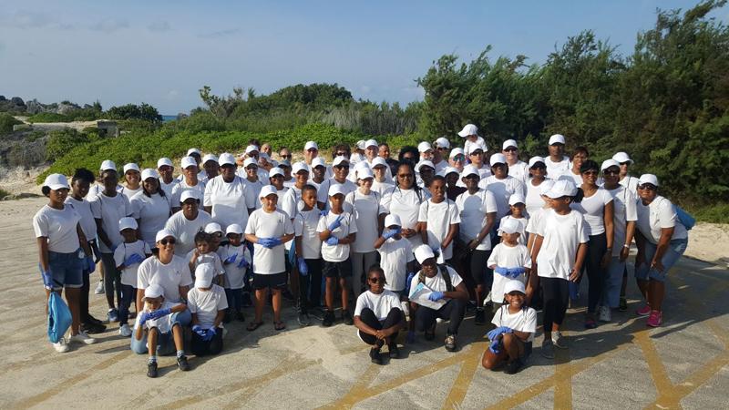 Beach CleanUp Bermuda Sept 2017 (1)