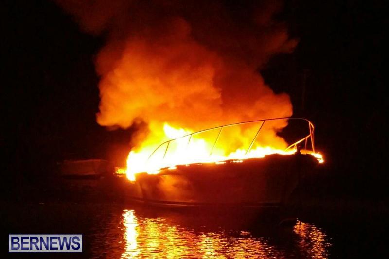 Boat Fire Bermuda, September 1 2017_00-2