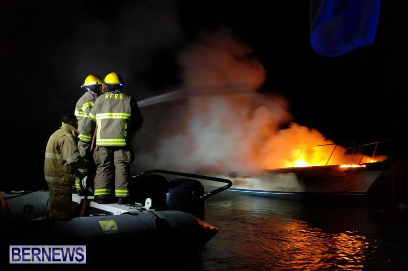 Boat Fire Bermuda, September 1 2017_00