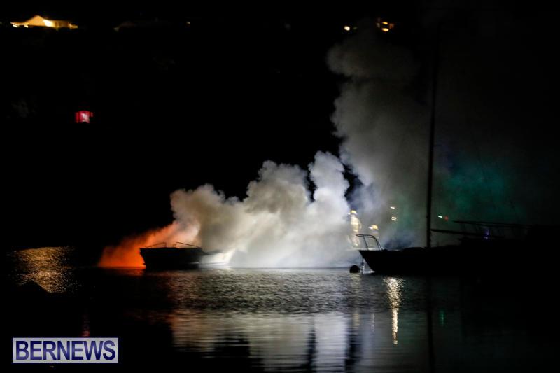 Boat Fire Bermuda, September 1 2017_7026