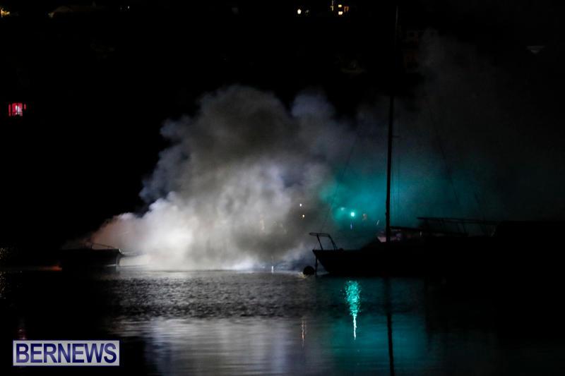 Boat Fire Bermuda, September 1 2017_7029