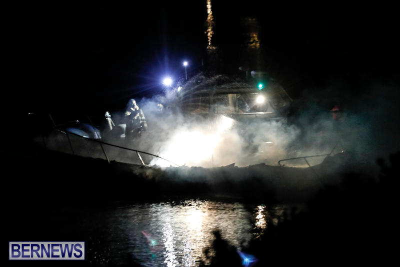 Boat Fire Bermuda, September 1 2017_7077