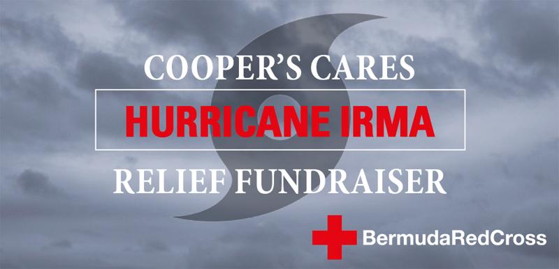 Cooper's Care Red Cross Bermuda Sept 13 2017