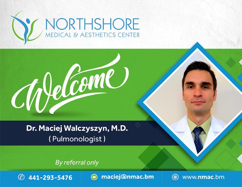 Dr Maciej Walczyszyn Bermuda Sept 2017