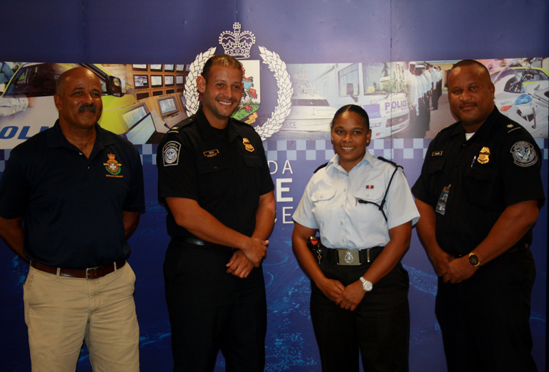 Inter-Service Charity BBQ Press Conference Bermuda Sept 2017 (1)