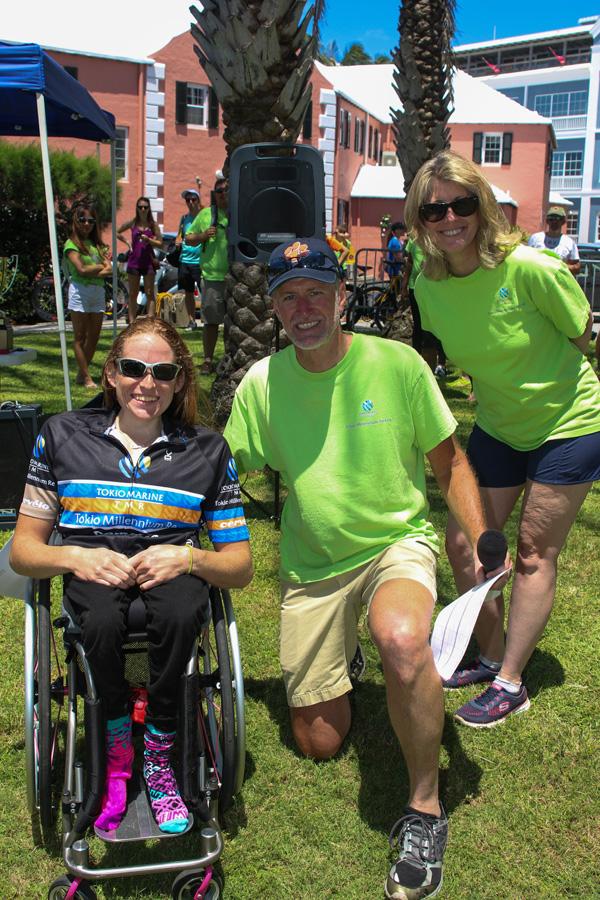 Jessica, Kathleen Faries & Ed Jordan Bermuda Sept 2017