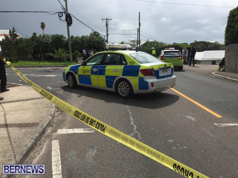 North Shore collision Bermuda Sept 19 2017