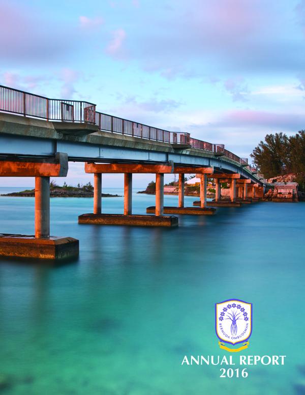 Ombudsman Annual Report 2016 Cover Bermuda