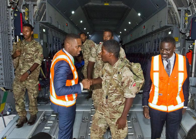 Premier Minister Regiment Bermuda Sept 29 2017 (6)