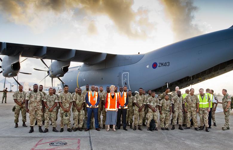 Premier Minister Regiment Bermuda Sept 29 2017 (7)
