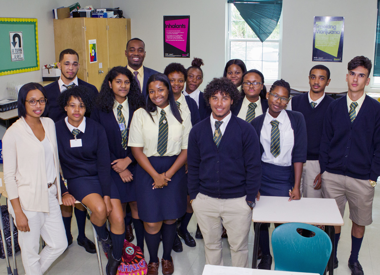 Premier School Greeting Berkeley Bermuda Sept 11 2017 (4)