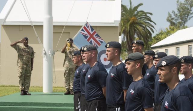 RAF airmen Bermuda Sept 15 2017 (1)