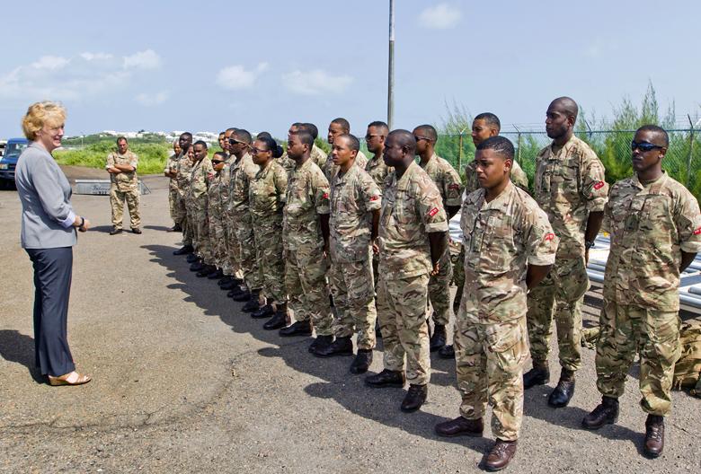 Regiment Airport Departure Bermuda Sept 15 2017 (1)
