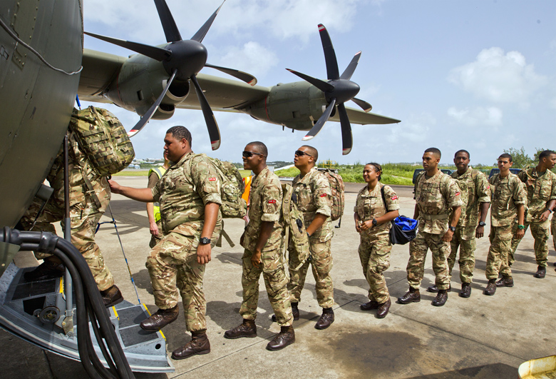 Regiment Airport Departure Bermuda Sept 15 2017 (2)