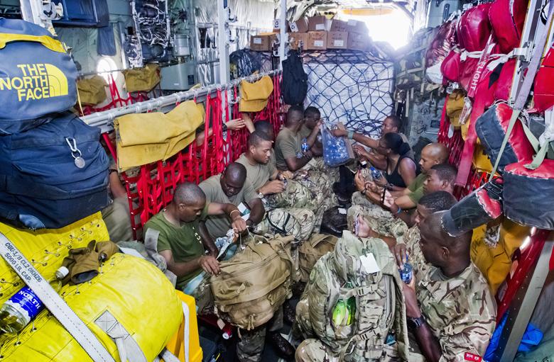 Regiment Airport Departure Bermuda Sept 15 2017 (4)