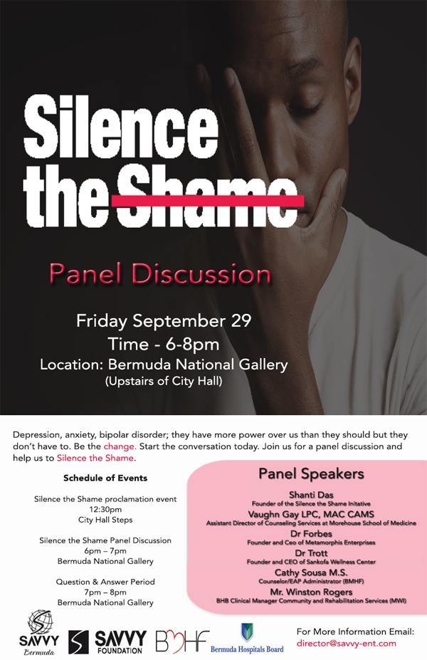 Silence the Shame Bermuda Sept 2017