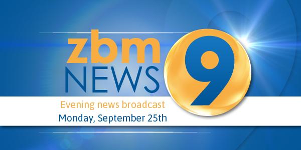 zbm 9 news Bermuda September 25 2017