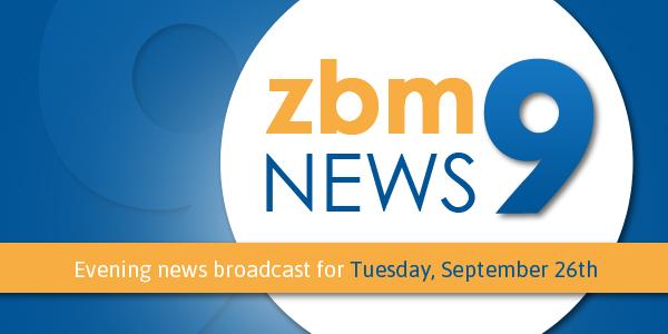 zbm 9 news Bermuda September 26 2017