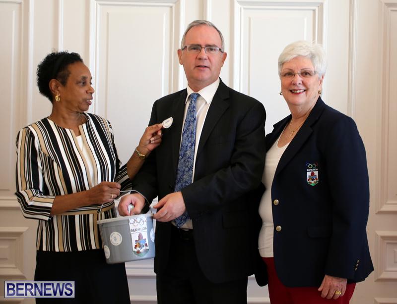 Bermuda Olympic Association Tag Day Oct 2017