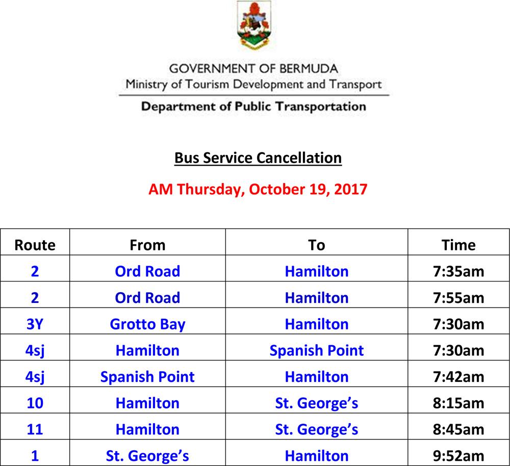 Microsoft Word - Bus Service Cancellation List for David