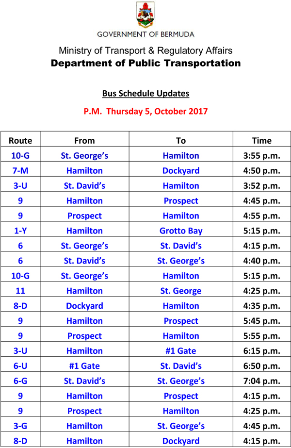 Bus Service Cancellation Thursday 5-10-2017-1