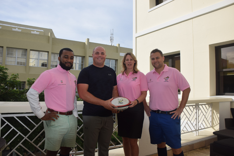 Colonial Rugby Bermuda Oct 2017