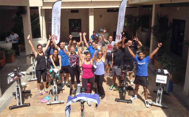 Court House Squash & Wellness Spinathon Bermuda Oct 11 2017