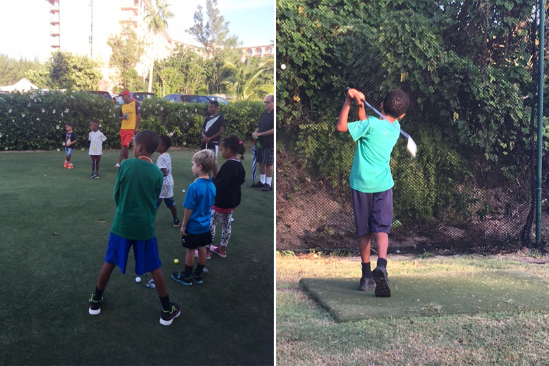 Family Centre 9th Annual Free Children's Golf Clinic October 19 2017 (2)