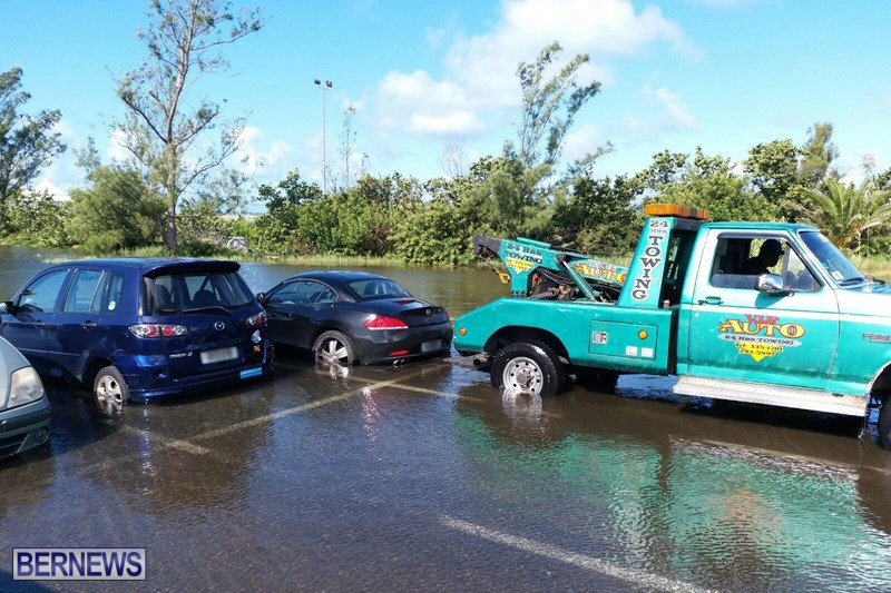 Flooding at airport long term parking, Oct 8 2017 (12)