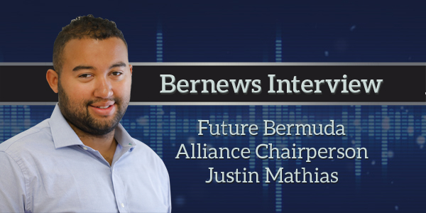 Future Bermuda Alliance Chairperson Justin Mathias Bernews Podcast