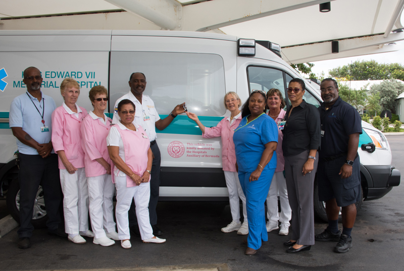 HAB Ambulance Donation Bermuda Oct 9 2017 (1)